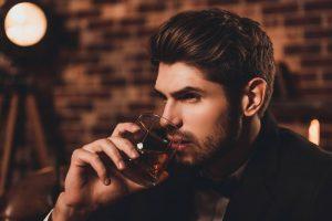 Alkohol auf Profilbild