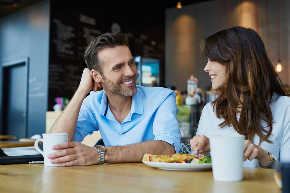 Dating kahvila fotoshooting