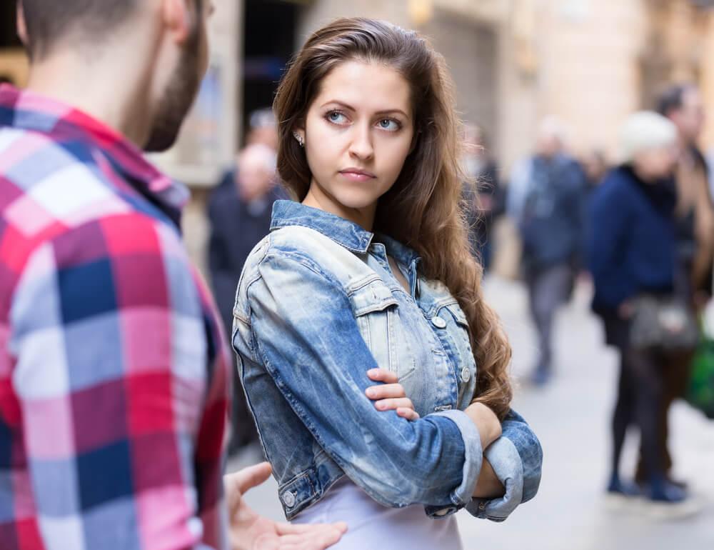 Frauen bekommen online-dating abgelehnt