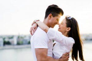 Umarmung als Liebesbeweis