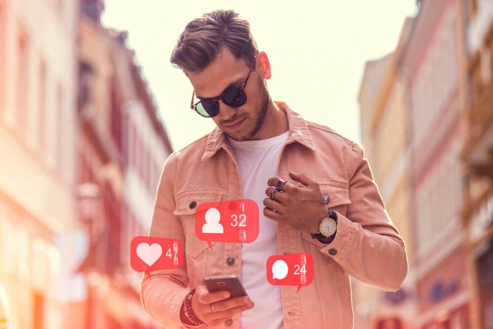 Online-Dating-männliches Verhalten