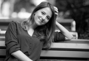 Profilbild in Schwarz-Weiß